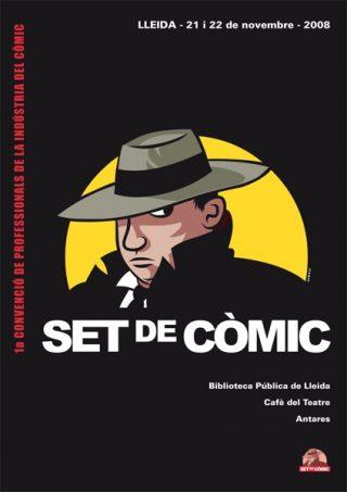 1a Convenció de professionals de la indústria del còmic «Set de còmic»